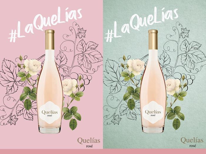 #laQuelías (Quelías rosé)